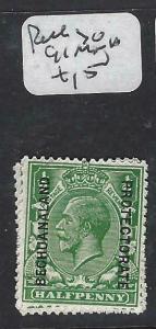 BECHUANALAND  (PP1904B)  KGV ON GB 1/2D  SG 91  MNH