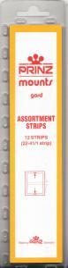 PRINZ CLEAR MOUNTS 215AS 22-41 (1 STRIP EACH) (12) RETAIL PRICE $7.99