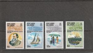 Pitcairn Islands  Scott#  277-80  MNH