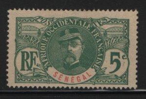 SENEGAL, 60, NO GUM, 1906, GENERAL LOUIS FAIDHERBE