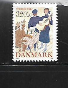 DENMARK, B74, MINT HINGED, HINGE REMNANT, SALVATION ARMY
