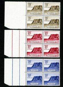 Norway Stamps # B28-30 VF OG NH Catalog Value $36.00