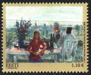 Estonia. 2013. 777. Elmar Keats painting, painting. MNH.