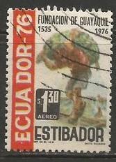 ECUADOR C577 VFU  Z1721-6