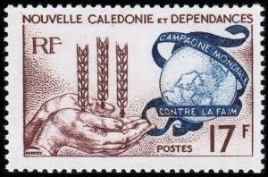 New Caledonia Scott 323 (1963) Mint LH VF B