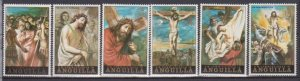 1973 Anguilla Scott 168-173 Easter MNH