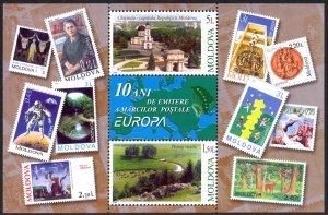 Moldova Sc# 446 MNH Souvenir Sheet 2003 Europa