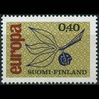 FINLAND 1965 - Scott# 437 Europa Set of 1 NH