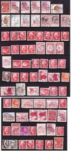 Denmark postmark picks 1970s-80s