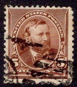 US Stamp #223 USED SCV $4.75