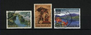 Greece  3 different  used PD
