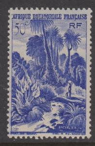 French Equatorial Africa Sc#169 MH