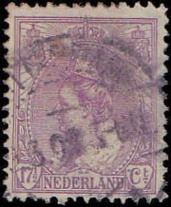 1906 Netherlands #71, Incomplete Set, Used