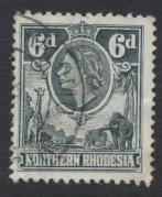 Northern Rhodesia  SG 68 SC# 68 Used - see details