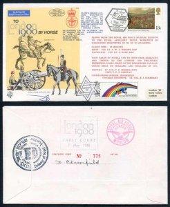 C65c To London by Horse Signed by Brigadier General Eitan Barak (W)