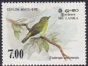 Sri Lanka 877 Ceylon white-eye 1988