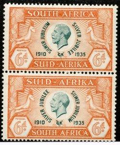 South Africa, Scott #71, Unused, Hinged pair