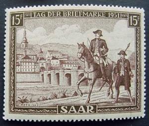 Germany, Saar, Scott 227, MNH