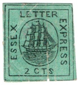(I.B) US Local Post : Essex Letter Express 2c