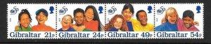 GIBRALTAR SG780a 1996 U.N.I.C.E.F. MNH
