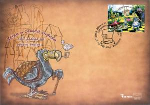 BOSNIA & HERZEGOVINA / 2015, (FDC) Alice in Wonderland (Disney Cartoon), MNH