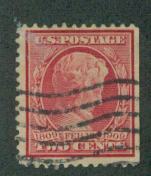 U.S. Scott  367 FVF Used 2c Lincoln
