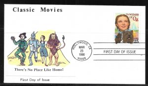 United States 2445 Wizard of Oz First Day Cover FDC (z9)