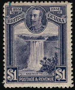 British Guiana #209 Mint F-VF hr...Fill in British Colony spaces!