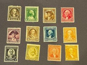 704-715, Mint, OGNH