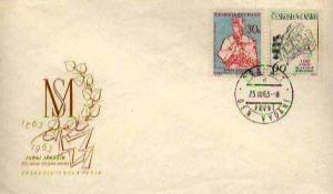 Czechoslovakia, First Day Cover