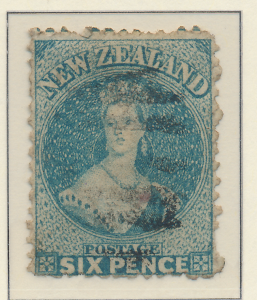 New Zealand Stamp Scott #44, Used - Free U.S. Shipping, Free Worldwide Shippi...