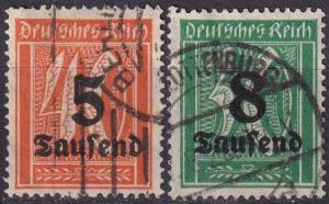 Germany #241-2   F-VF Used  CV $3.35