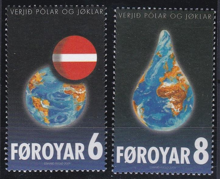 Faroe Islands 508-509 MNH (2009)