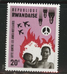 RWANDA Scott 170 MNH** Peace stamp
