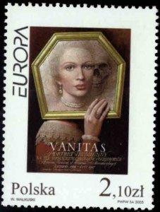 Poland Scott 3675 MNH**  Europa Art stamp