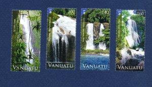 VANUATU - Scott 1057-1060 - FVF MNH - Waterfalls - 2013