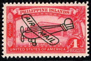 Philippines Stamp #C47 4c 1933 AIR MAIL MH/OG STAMP