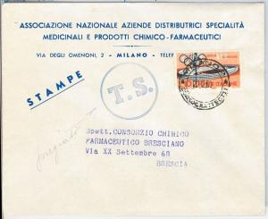 OLYMPIC GAMES  -  POSTAL HISTORY - Italy : TAXED COVER 1960