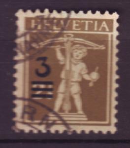 J18525 JLstamps 1930 switzerland used #207 ovpt