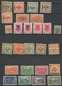 Albania stamp collection