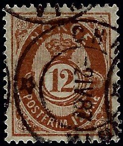 Norway #42 Used F-VF SCV$35...Chance to buy a Bargain!