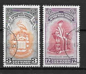 Leeward Islands 130-31 University set Used