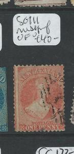 NEW ZEALAND  (P0508B) QV CHALON 1D  SG111  MISSPERF  VFU