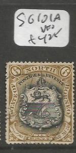 North Borneo SG 101a VFU (6cmp)