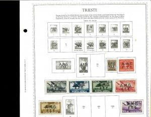 Trieste (Italian) Mint Hinged on Minkus Global Pages.