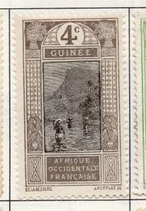 French Guinea 1913 Early Issue Fine Mint Hinged 4c. 193461