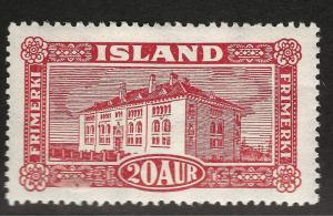 Iceland #146 Mint OG Very Fine  Cat $40.00 NO Reserve!