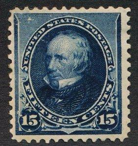 UNITED STATES (US) 227 MINT F-VF HINGED 15 BLUE