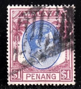 Malaya Penang Scott 20  VF used.