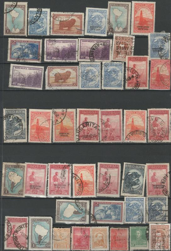 Argentina stamp collection